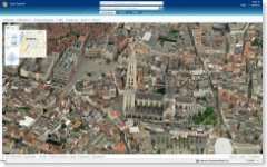 Antwerpen on Virtual Earth small