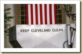 Keep Cleveland clean